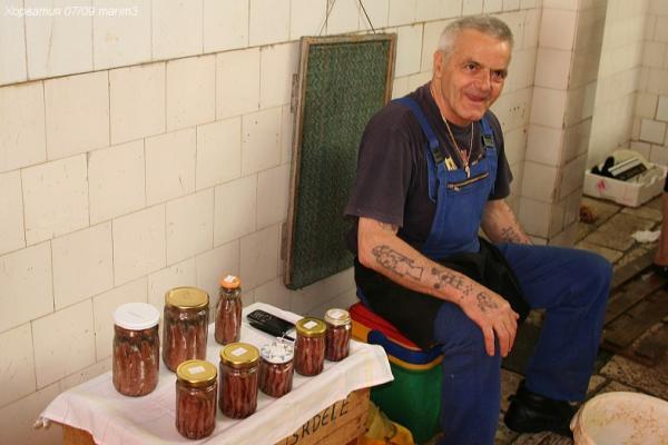 Продавец анчоусов